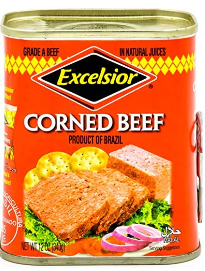 EXCELSIOR canned corned beef hash
