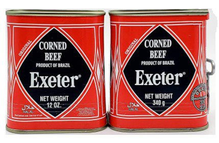 Exeter canned corned beef brands