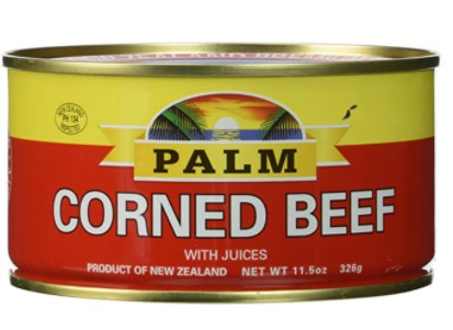 Palm canned corned beef brands