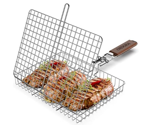 Portable Fish Grill Basket for Outdoor