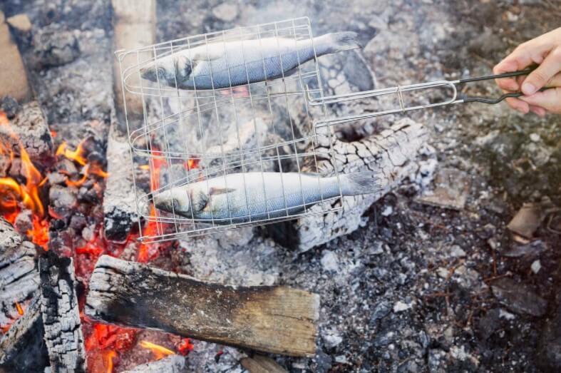 grill fish basket
