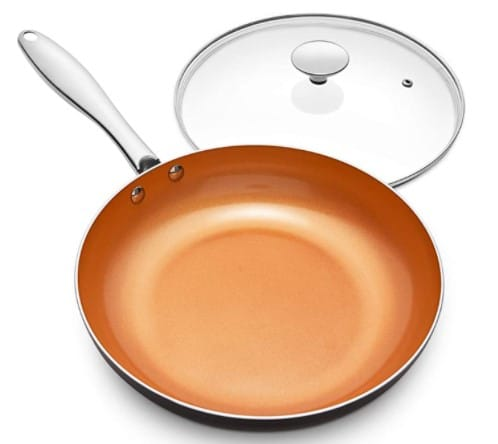 MICHELANGELO Frying Pan with Lid