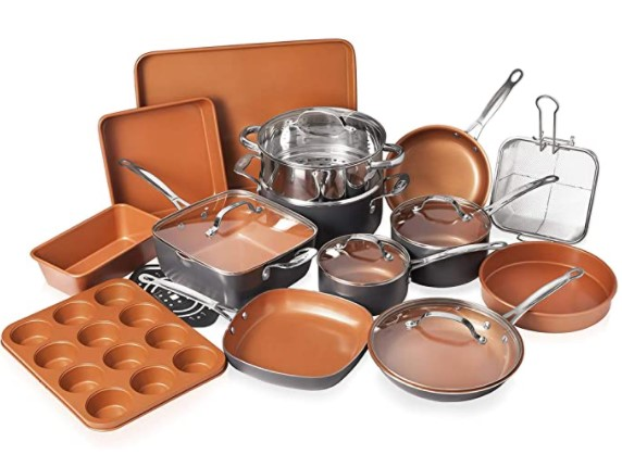top rated nonstick cookware for gas stoves