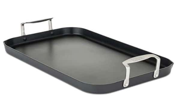 Viking Culinary Hard Anodized Double Burner Nonstick Griddle