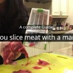 Can you slice meat with a mandoline