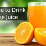 best time to drink orange juice